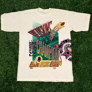 Vintage 1992 Washington Redskins Tee